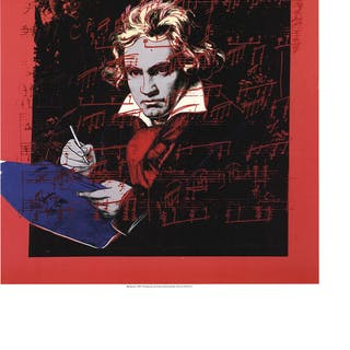 Andy Warhol-Beethoven-1990 Poster Warhol, Andy 52