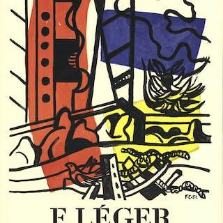 Fernand Leger-Dessins et Gouaches-1958 Mourlot Lithograph Leger, Fernand 52