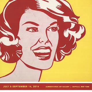 Roy Lichtenstein-Head-Red and Yellow-2014 Poster Lichtenstein, Roy 52