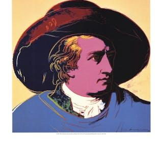 Andy Warhol-Goethe-1990 Poster Warhol, Andy 52