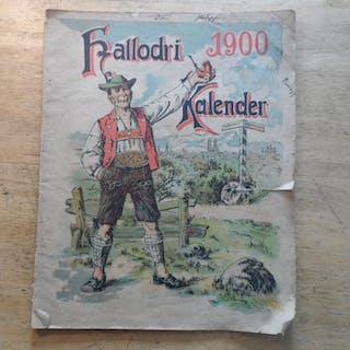 Hallodri Kalender 1900 Neal,Max