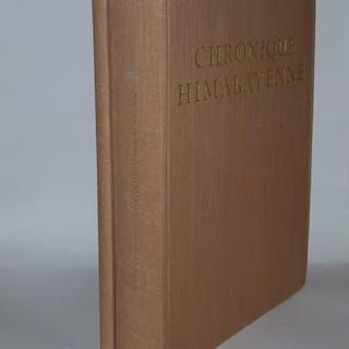 CHRONIQUE HIMALAYENNE L'Age D'Or 1940-1955 [&] Supplement...