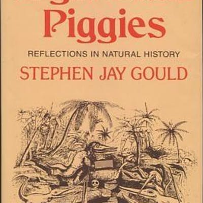 Eight Little Piggies: Reflections in Natural History [*SIGNED*] Gould