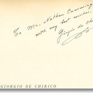 12 OPERE DI GIORGIO DE CHIRICO [Chirico