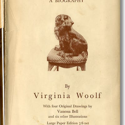 FLUSH A BIOGRAPHY Woolf, Virginia Art & Illustrated Books,Women