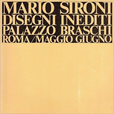 Mario Sironi. Disegni inediti SIRONI, Mario (Sassari, 1885 - Milano, 1961)