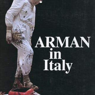 Arman in Italy ARMAN (Fernandez, Armand Pierre. Nizza, 1928 - New York, 2005)