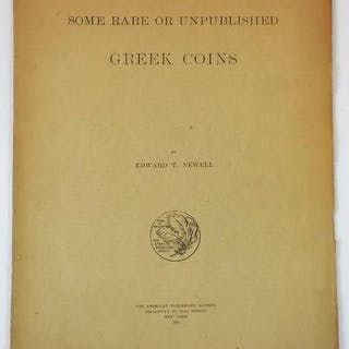 Some Rare or Unpublished Greek Coins Newell