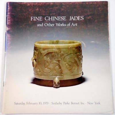 Fine Chinese Jade Carvings and Works of Art