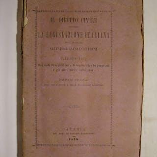 Il diritto civile secondo la legislazione italiana...