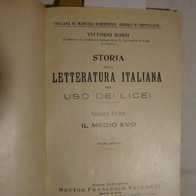 Storia della letteratura italiana per uso dei licei...
