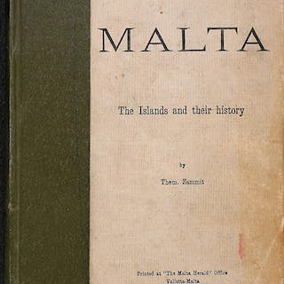 Malta The Islands And Their History Them. Zammit