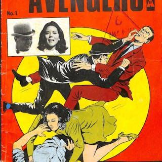 THE AVENGERS No 1 (UK TV Series) 1966 Mick Anglo