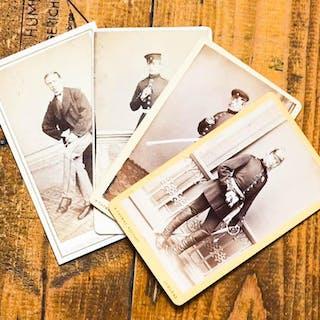 4 Original-Photos von H