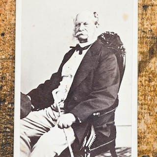 Porträt-Photographie von Thomas. Portrait-Photo, CDV - Wilhelm I.: Photographie