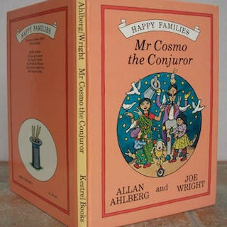 MR COSMO THE CONJUROR, Happy Families Series. AHLBERG, ALLAN and JOE WRIGHT.