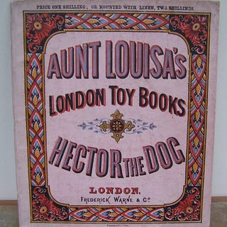 HECTOR THE DOG. [VALENTINE, Laura (Jewry)]. AUNT LOUISA'S LONDON TOY BOOKS. tick
