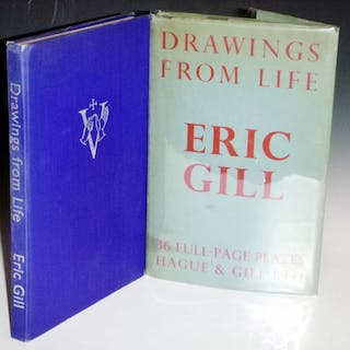 Drawings From Life Gill, Eric O.S.D. Art,Fine Printing and Illustrated Books