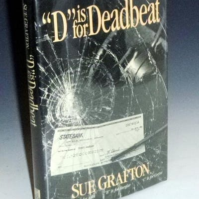 D is for Deadbeat (Signed By the author) Grafton, Sue Mystery