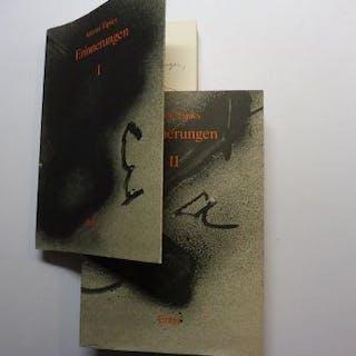 Antoni Tapies * - Erinnerungen I - II