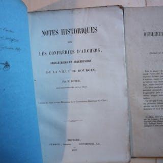 NOTES HISTORIQUES SUR LES CONFRERIES D'ARCHERS