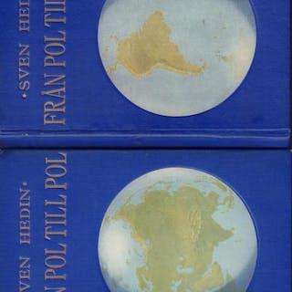 Från pol till pol. 1-2. Hedin, Sven TRAVEL