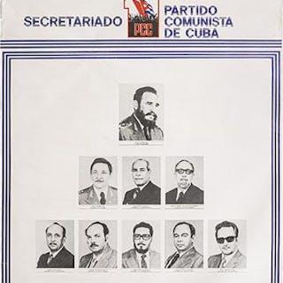 Secretariado Partido Comunista de Cuba