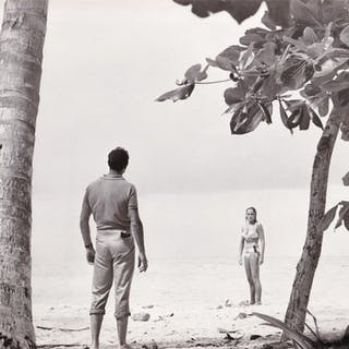 Dr. No (Vintage photograph from the set of the 1962 film) Fleming