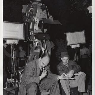 Mokey (Original double weight photograph from the set of the 1942 film) Root