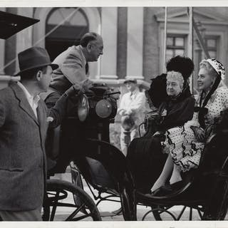 Lillian Russell (Original photograph from the set of the 1940 film) Cummings