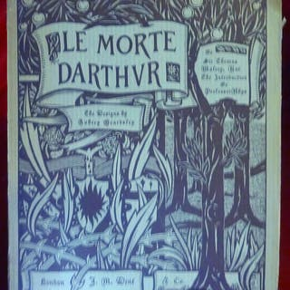 Le Morte D'Arthur; Illustrated By Aubrey Beardsley Malory