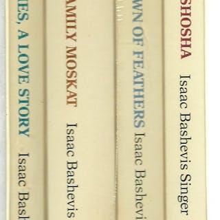 Isaac Beshevis Singer - 4 Volumes Set Isaac Beshevis Singer