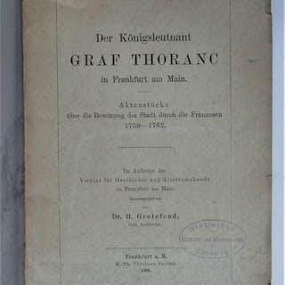 Der Königsleutnant Graf Thoranc in Frankfurt am Main