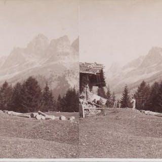 Tirol, Rosengarten Gruppe, Angerl-Schwaig, N: 4831. [TIROL - BEER ALOIS].
