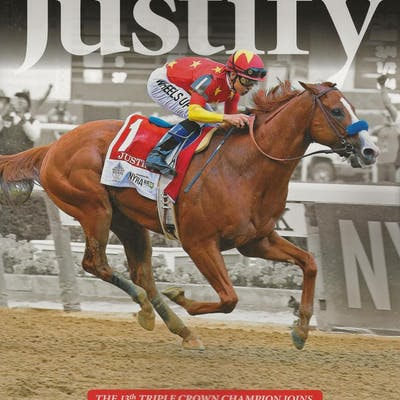 BLOOD-HORSE 2018 TRIPLE CROWN COLLECTOR'S ISSUE KEITT