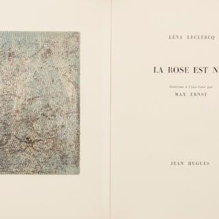 La Rose est nue Max Ernst, Leclercq