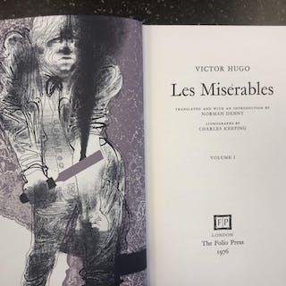 LES MISERABLES [2 VOLUMES] Hugo, Victor Dupont Circle,Fiction