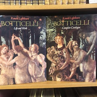 SANDRO BOTTICELLI [2 VOLUMES] Lightbown, Ronald Arts,Dupont Circle