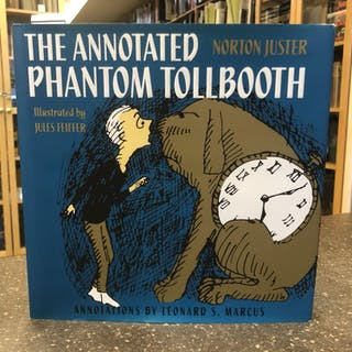 THE ANNOTATED PHANTOM TOLLBOOTH [SIGNED] Juster