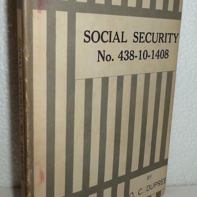 Social Security No. 438-10-1408 Dupree, Orlean C.