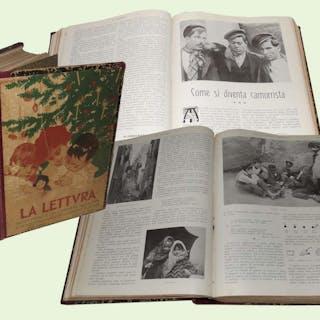 LA LETTURA annata completa 1907   Edicola periodici