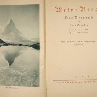 Meine Berge. Das Bergbuch. Unter Mitarbeit von Walter Schmidkunz. TRENKER, Luis