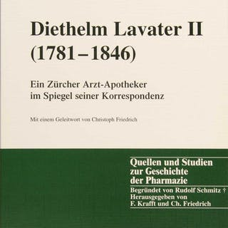 Diethelm Lavater II (1781-1846) : ein Zürcher...