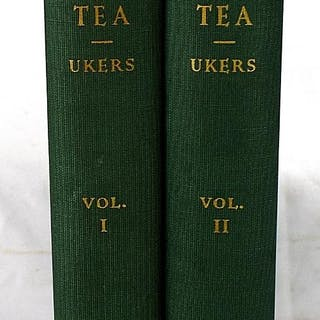 All about tea (2 volumes) Ukers, William H Cooking
