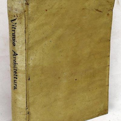 I dieci libri dell'architettura Vitruvius Pollio.; Daniel Barbaro Architecture