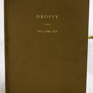 An inaugural dissertation on the dropsy : read and...