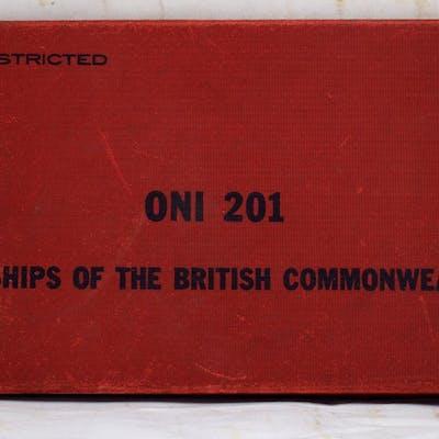 ONI 201 Warships of the British Commonwealth