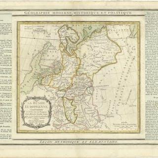 La Russie Européenne Desnos Louis Charles 1725 - 1805