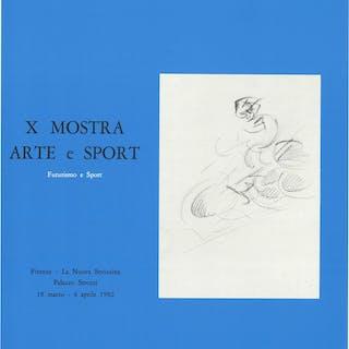 X mostra arte e sport. Futurismo e Sport Tipolitografia F.lli Linari
