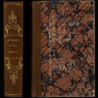 Il compendio della storia romana di Flavio Eutropio recato di latino in italiano